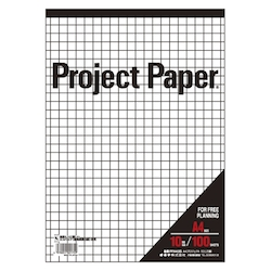 Project Paper A4 10 mm, Graph Paper
