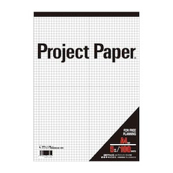 Project Paper A4 5 mm, Graph Paper
