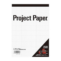 Project Paper A5 5 mm, Graph Paper
