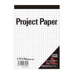 Project Paper A6 5 mm, Graph Paper