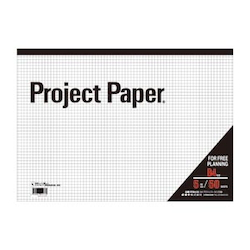 Project Paper B4 5 mm, Graph Paper