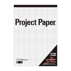 Project Paper B5 5 mm, Graph Paper
