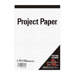 Project Paper B6 5 mm, Graph Paper