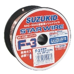 Star Wire, F-3, for Solid Wire Soft Steel 0.6φ X 0.8 kg