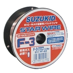 Star Wire, F-3, for Solid Wire Soft Steel 0.8φ X 0.8 kg