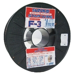 Star Wire, F-3, for Solid Wire Soft Steel 0.8φ X 5 kg