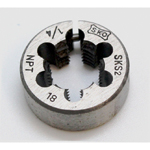 Cylindrical Die for Gas Pipes, Taper, NPT