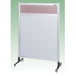 Partition Transparent Color PVC (Top) Aluminum Plate (Bottom) Type (Movable)