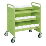 Tool Rack Cart for NT / BT / HSK / KM / NC5 Tools