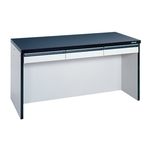 Lab Side Wall Table, Open Type with Drawer
