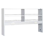 Lab Side Wall Table Option Overhead Shelf
