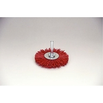 Grit Shaft Mounted Wheel Brush with Abrasive Grain #60
