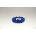 Grit Shaft Mounted Wheel Brush with Abrasive Grain #180