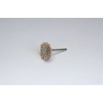 Miniature Grit Shaft Wheel Brush with Abrasive Grains