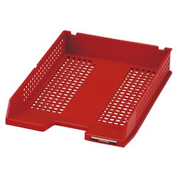 System Tray A4 Red