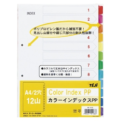 Color Index PP A4 12 Sheets 2 Holes