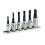 TORX Socket Set (Heavy-duty Type / with Holder) HTX306