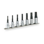 TORX Socket Set (Heavy-duty Type / with Holder) HTX407