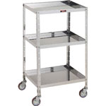 "Stainless Steel Tool Cart ""V"" Type (SUS430)"