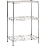 Stainless Steel Wire Mesh Rack (SUS304, Load Capacity / Shelf: 30 kg, Pipe Dia. Φ 19 mm) Additional Shelf
