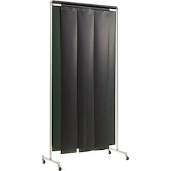 Curtain Type Light Shielding Screen Rail (Aluminum Frame, with Casters)