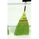 Hand-Knitted Short Handle Broom, Upper