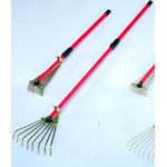 Telescopic Mini Rake, Flat Wire