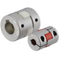 Couplicon Curved Jaw Type Flexible Coupling MJT